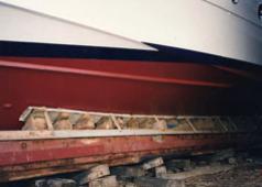 Ανέλκυση και φιλοξενία σκαφών  στις ναυπηγικές κλίνες